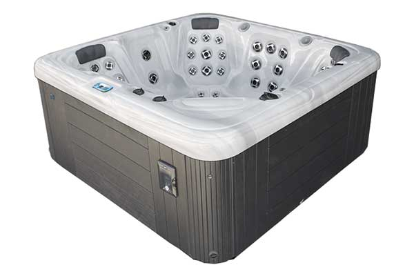 6 Seater Lounge Hot Tub with Swirl Jets
